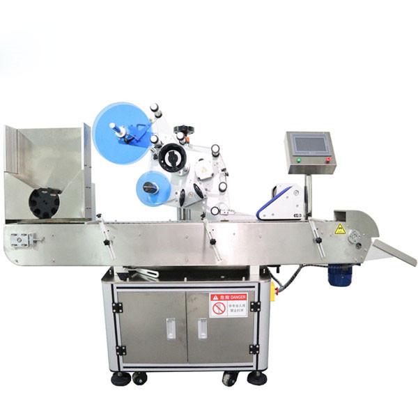 Automatický stroj na označovanie štítkov s vodorovnými liekovkami