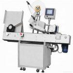 Stroj na označovanie papierových vreciek na rovný povrch
