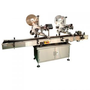 Avocado Oil Jar Side And Top Labeling Machine