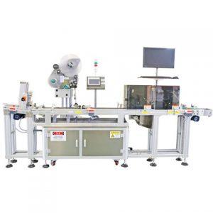 Stroj na označovanie orálnych tekutín ampulkami značky Horizontaly Way