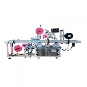 Etiketovací stroj na plastové fľaše