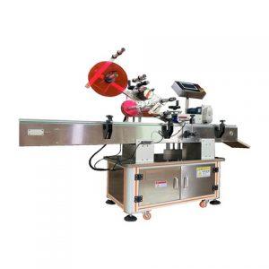Top Side Full Automatic Dumpling Bags Labeling Machine