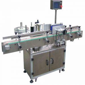 Obojstranný stroj na označovanie plastových fliaš na fľaše