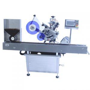 Plochý horný povrchový etiketovací stroj