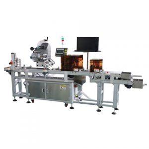Etiketovací stroj na sklo