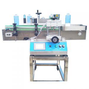 Automatický stroj na etiketovanie okrúhlych fliaš z výrobného závodu