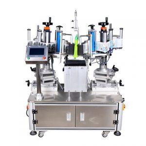 Stroj na označovanie vákuovým vreckom