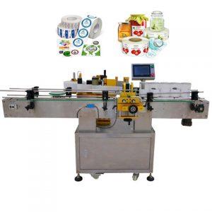 Stroj na označovanie obalov na sušienky
