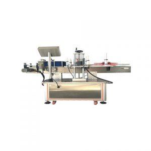 Namažte stroj na označovanie vedra oleja
