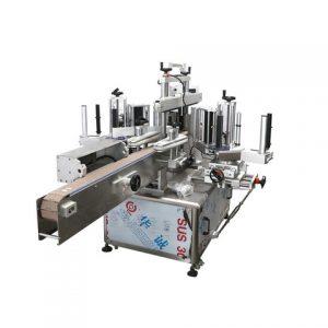 Stroj na označovanie nepravidelných fliaš