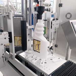 Auto Labeling Corner Sealing Machine