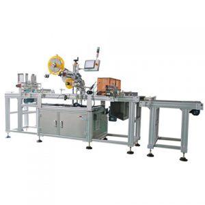 Automatický etiketovací stroj na obojstrannú sanitizáciu fľaše