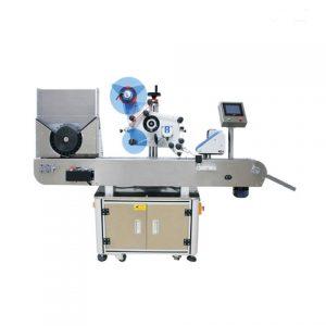 Horný povrch plochého etiketovacieho stroja