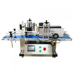 Stroj na označovanie fliaš s plochým povrchom
