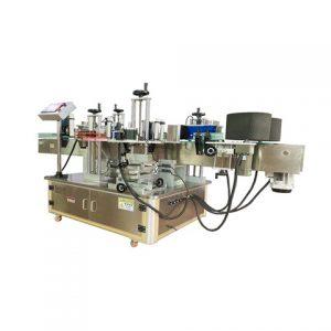 Stroj na označovanie rukávov fliaš na pivo
