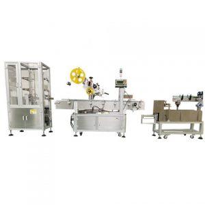Stroj na označovanie kapsúl