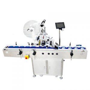 Lepiaci stroj okolo štítkovača pre rozprašovače