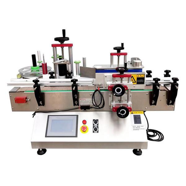 Automatický stolový stroj na označovanie fliaš