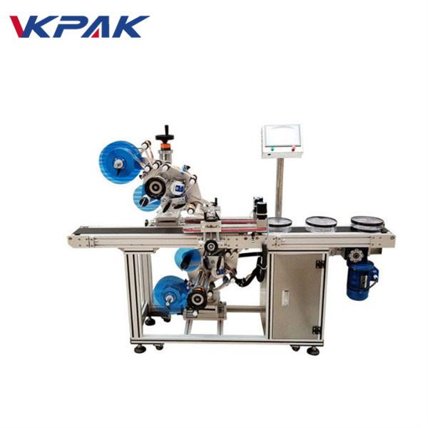Automatický horný a dolný plochý štítkovací stroj