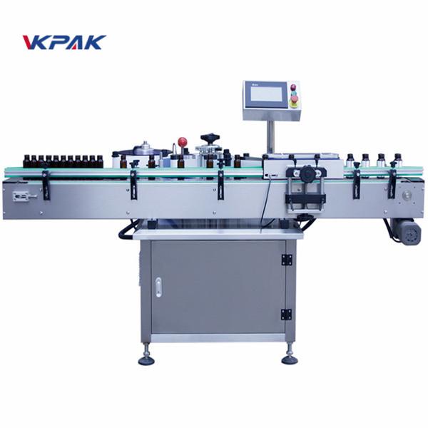 Automatický vertikálny guľatý štítkovací štítkovací stroj