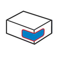 Kartónový rohový štítkovač